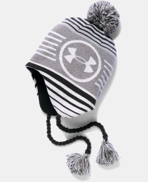 Boys' UA Tassle Beanie LIMITED TIME: FREE U.S. SHIPPING  $24.99
