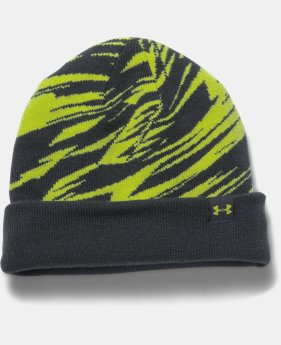 New Arrival Boys' UA 4-in-1 Graphic Beanie   $29.99