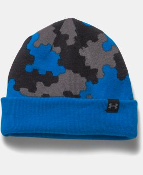Boys' UA 4-in-1 Graphic Beanie   $17.24