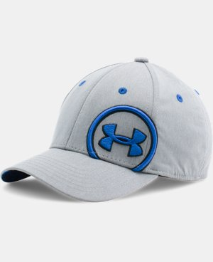 Boys' UA Big Logo Update Cap  LIMITED TIME: FREE U.S. SHIPPING 2 Colors $10.49 to $16.99