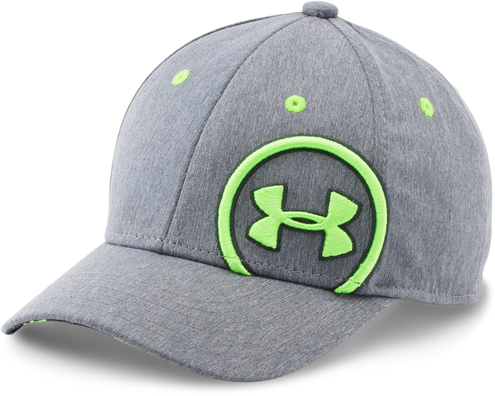 Boys' UA Big Logo Update Cap , Graphite, zoomed image