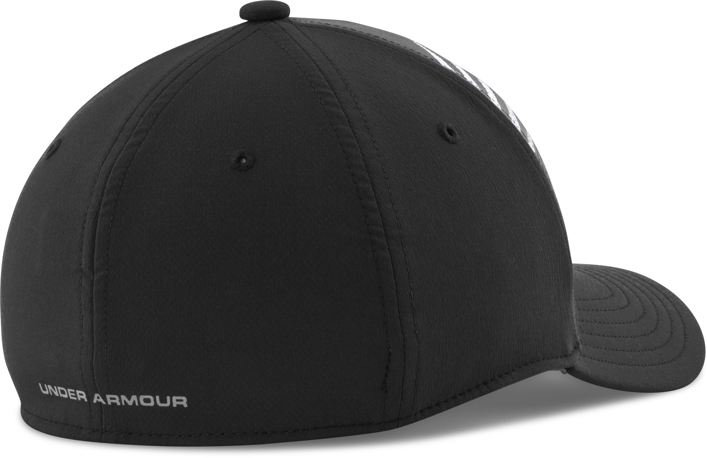 Boys' UA Eyes Up Low Crown Cap, Black , undefined