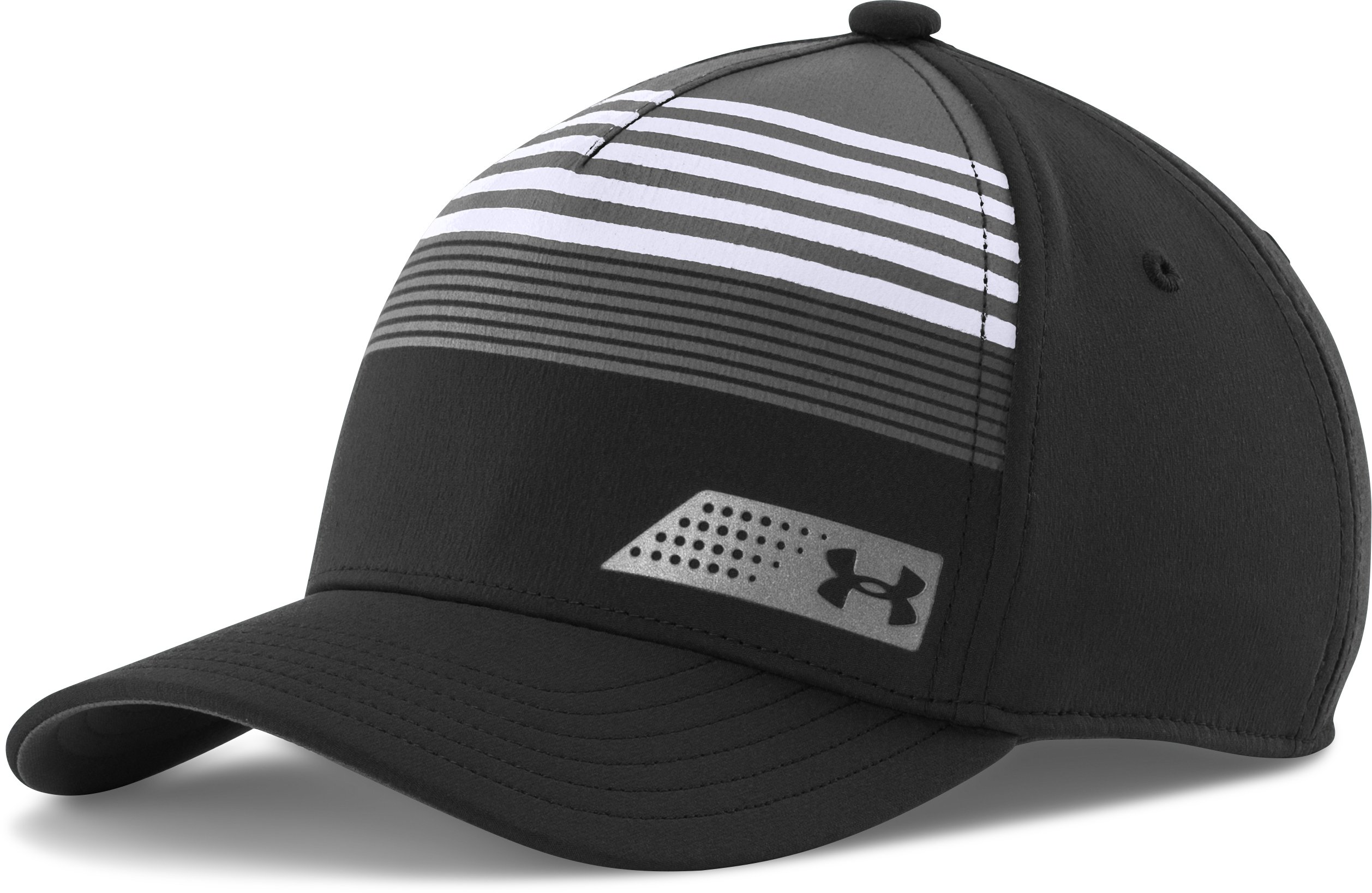 Boys' UA Eyes Up Low Crown Cap, Black