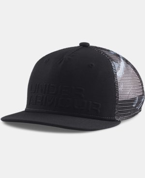 Boys' UA Trucker Mesh Snap Back Cap LIMITED TIME: FREE U.S. SHIPPING 2 Colors $14.24 to $14.99
