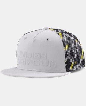 Boys' UA Trucker Mesh Snap Back Cap