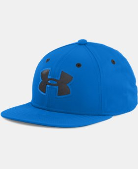 Boys' UA Huddle 2.0 Snap Back Cap