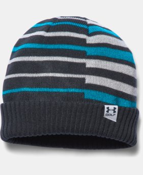 Boys' UA Golf Stipe Beanie LIMITED TIME: FREE U.S. SHIPPING  $21.99