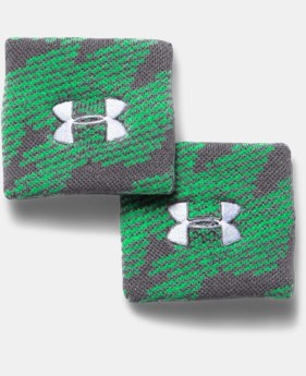 Boys' UA Jacquarded Wristbands
