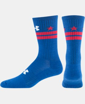 Men's UA DC Flag Crew Socks