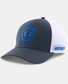Men's UA Hockey Mesh Stretch Fit Cap
