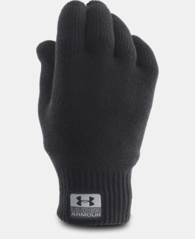 Men's UA Fuse Knit Gloves LIMITED TIME: FREE SHIPPING 1 Color $39.99