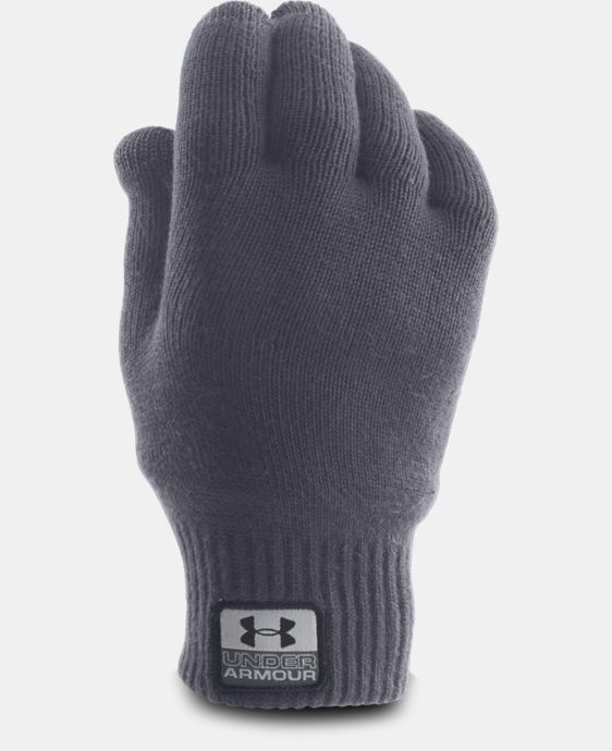 Men's UA Fuse Knit Gloves LIMITED TIME: FREE U.S. SHIPPING 1 Color $26.99