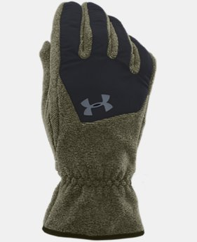 Men's UA ColdGear® Infrared Fleece Gloves  2 Colors $15.74