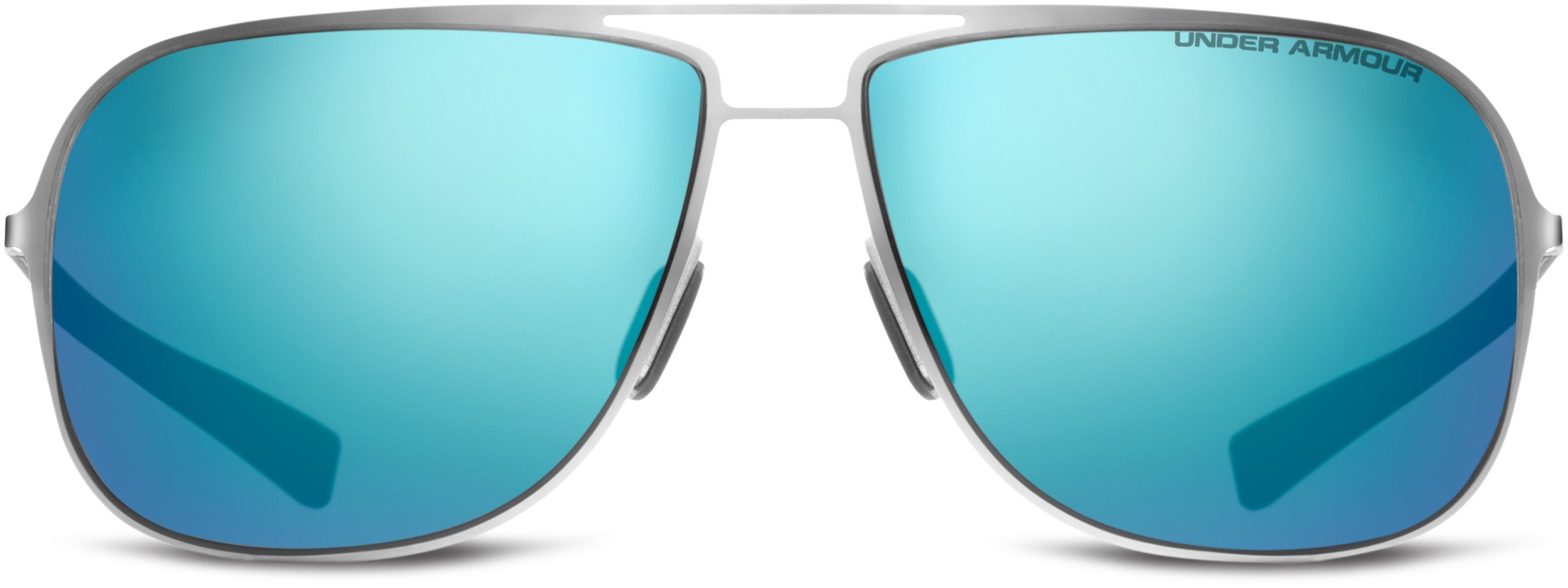 UA Alloy Sunglasses, SHINY SILVER, undefined