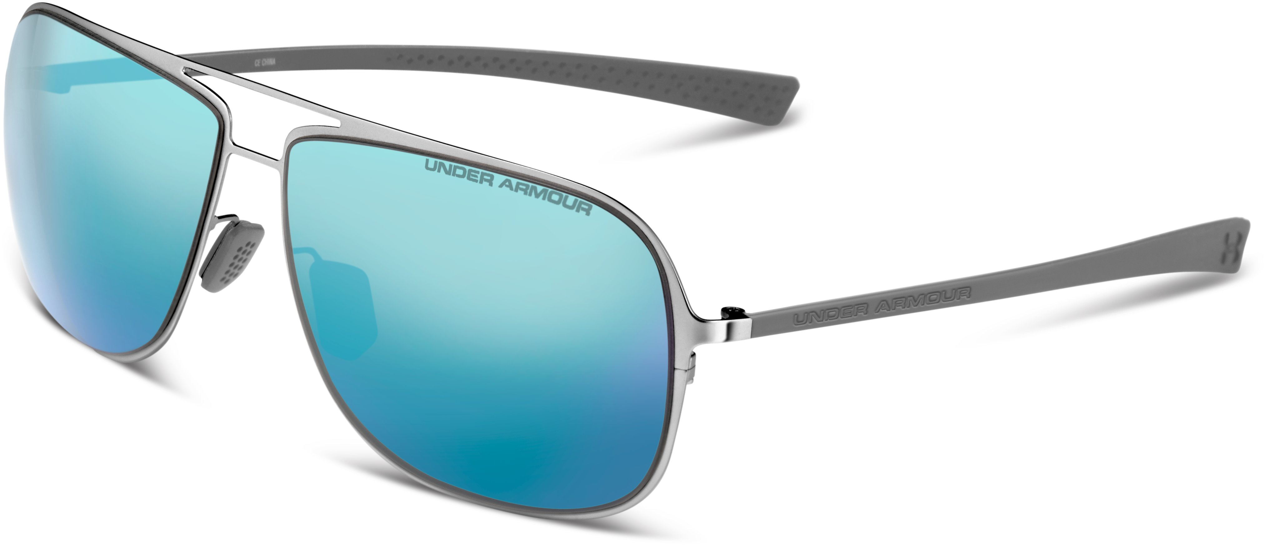 UA Alloy Sunglasses, SHINY SILVER,