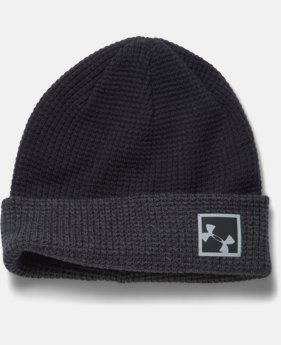 New Arrival Men's UA Waffle Cuff Beanie  1 Color $24.99