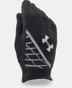 Boys' UA Fleece Run Gloves
