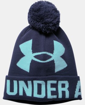 Women's UA Graphic Pom Pom Beanie  1 Color $17.99