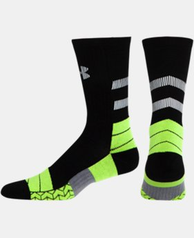Men's UA Illumination Run Crew Socks  1 Color $14.99