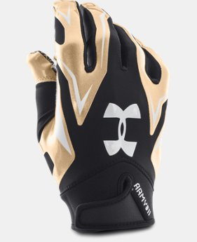 Men's UA Army of 11 F4 Football Gloves   $29.99