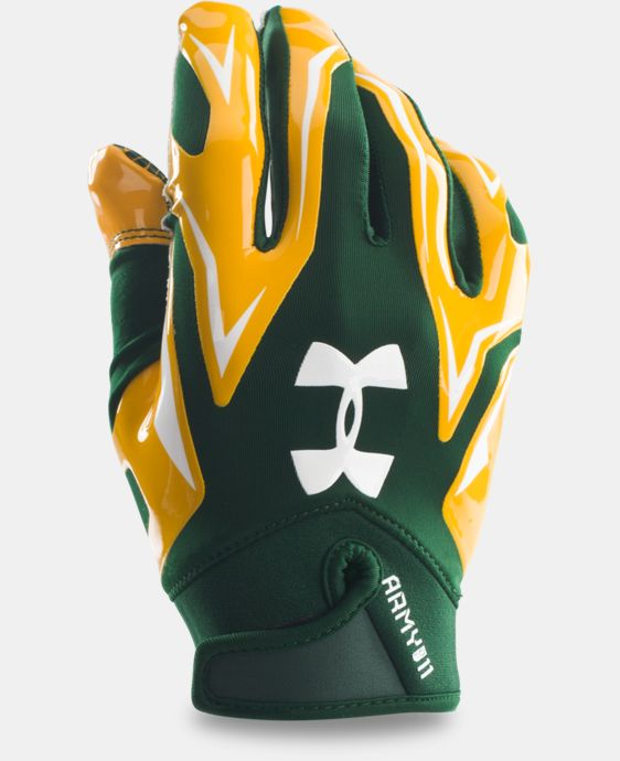 Men's UA Army of 11 F4 Football Gloves  2 Colors $22.49