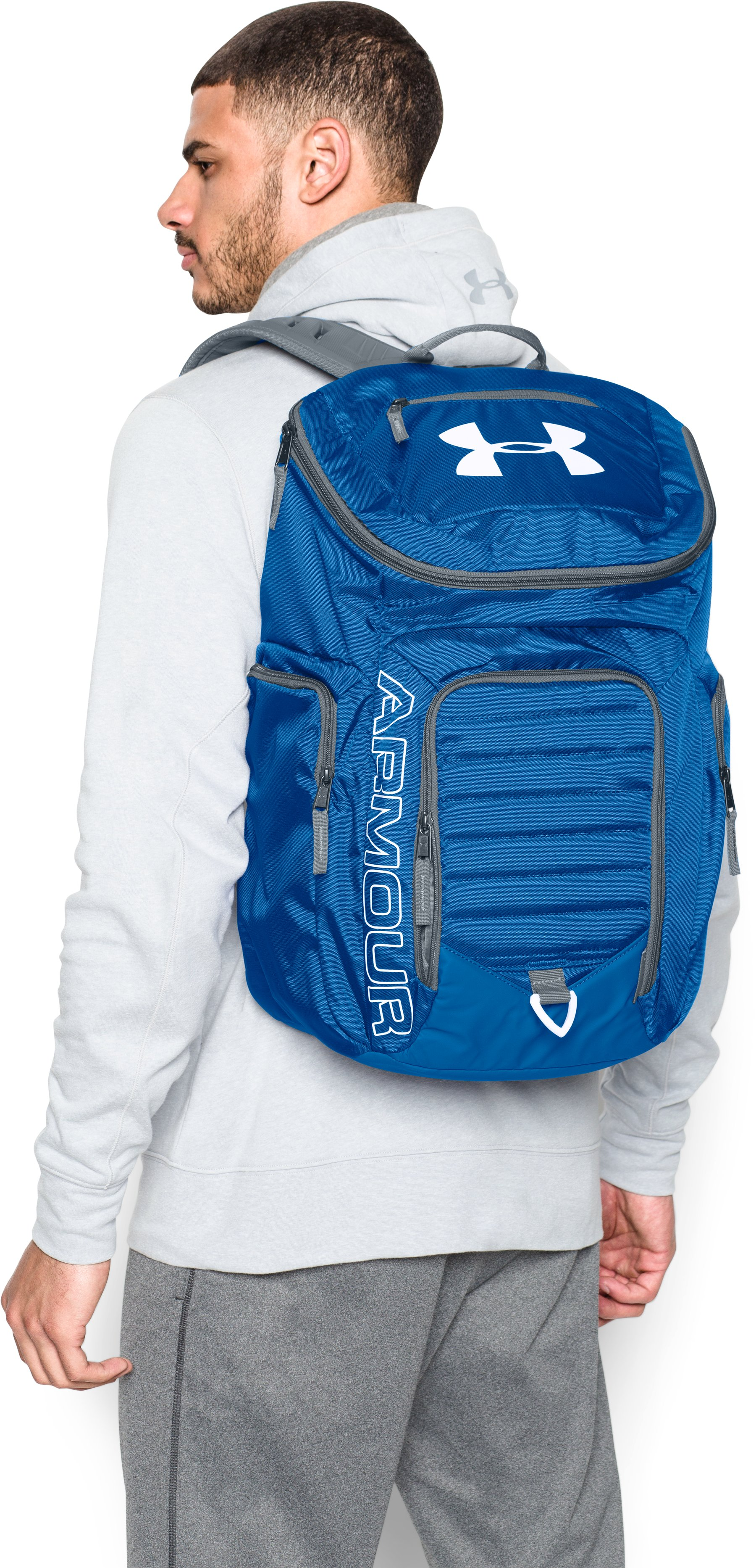 UA Storm Undeniable II Backpack, White,