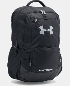 UA Storm Hustle II Backpack LIMITED TIME: FREE SHIPPING 14 Colors $64.99