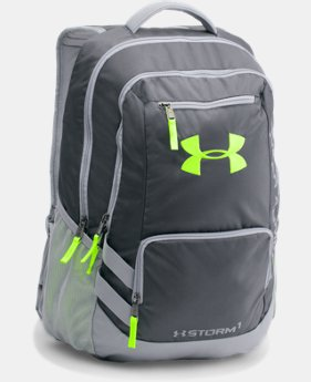 Best Seller UA Storm Hustle II Backpack LIMITED TIME: FREE SHIPPING 4 Colors $54.99