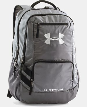 Best Seller  UA Storm Hustle II Backpack LIMITED TIME: FREE SHIPPING 3 Colors $48.99 to $64.99