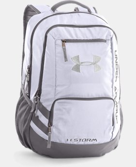 Best Seller UA Storm Hustle II Backpack  6 Colors $54.99