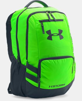 Best Seller UA Storm Hustle II Backpack LIMITED TIME: FREE SHIPPING  $54.99