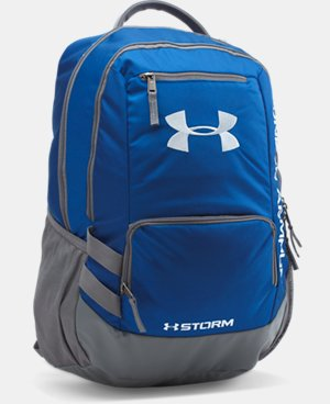 Best Seller UA Storm Hustle II Backpack  5 Colors $54.99