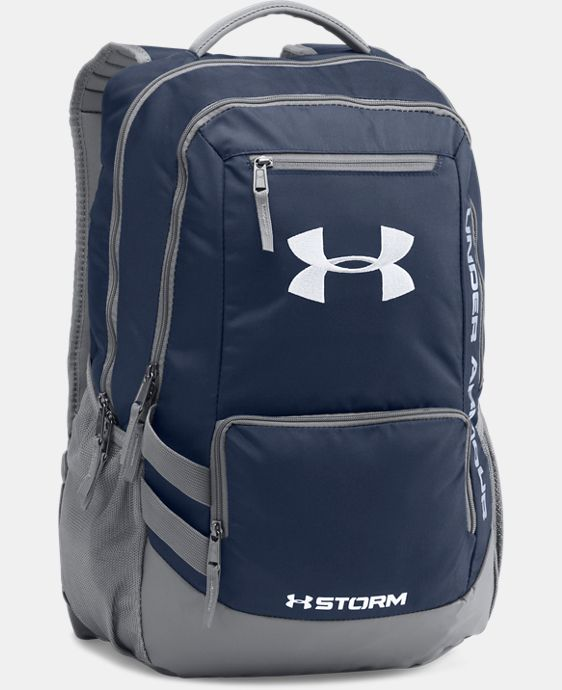 Best Seller  UA Storm Hustle II Backpack LIMITED TIME: FREE SHIPPING 1 Color $48.99 to $64.99