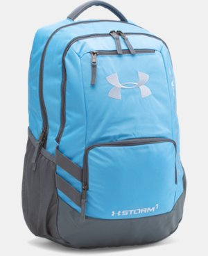 UA Storm Hustle II Backpack LIMITED TIME: FREE SHIPPING 5 Colors $48.99 to $64.99