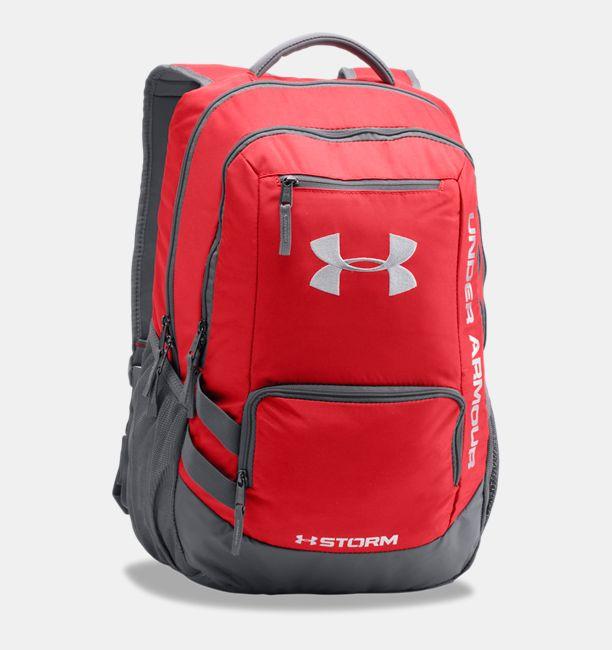 Ua Storm Hustle Ii Backpack Red