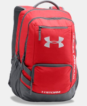 Best Seller UA Storm Hustle II Backpack  3 Colors $54.99