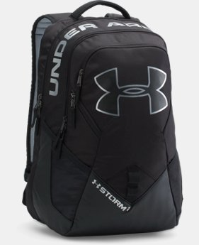 Best Seller UA Storm Big Logo IV Backpack  6 Colors $69.99