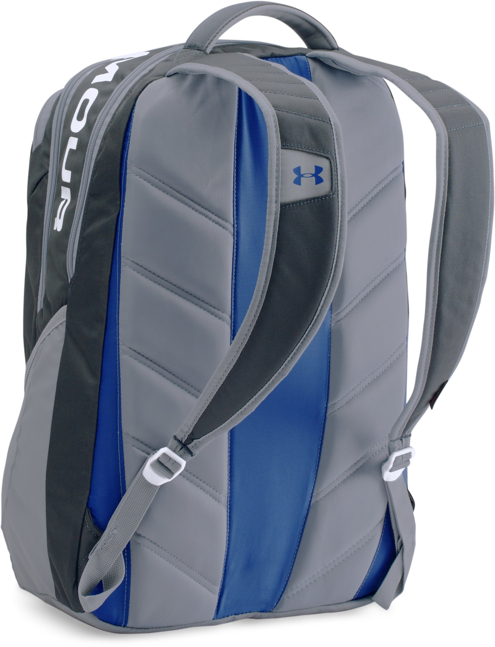 UA Storm Big Logo IV Backpack, STEALTH GRAY