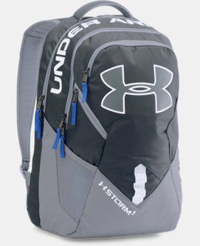 Best Seller UA Storm Big Logo IV Backpack LIMITED TIME: FREE SHIPPING 2 Colors $69.99