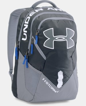 Best Seller  UA Storm Big Logo IV Backpack LIMITED TIME: FREE SHIPPING 7 Colors $52.99 to $69.99