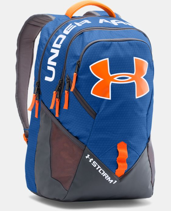 UA Storm Big Logo IV Backpack LIMITED TIME: FREE SHIPPING 2 Colors $52.99