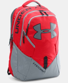 Best Seller UA Storm Big Logo IV Backpack LIMITED TIME: FREE SHIPPING 1 Color $69.99