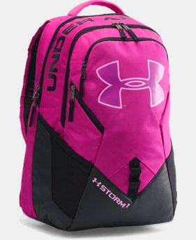 Best Seller  UA Storm Big Logo IV Backpack LIMITED TIME: FREE SHIPPING 2 Colors $52.99 to $69.99