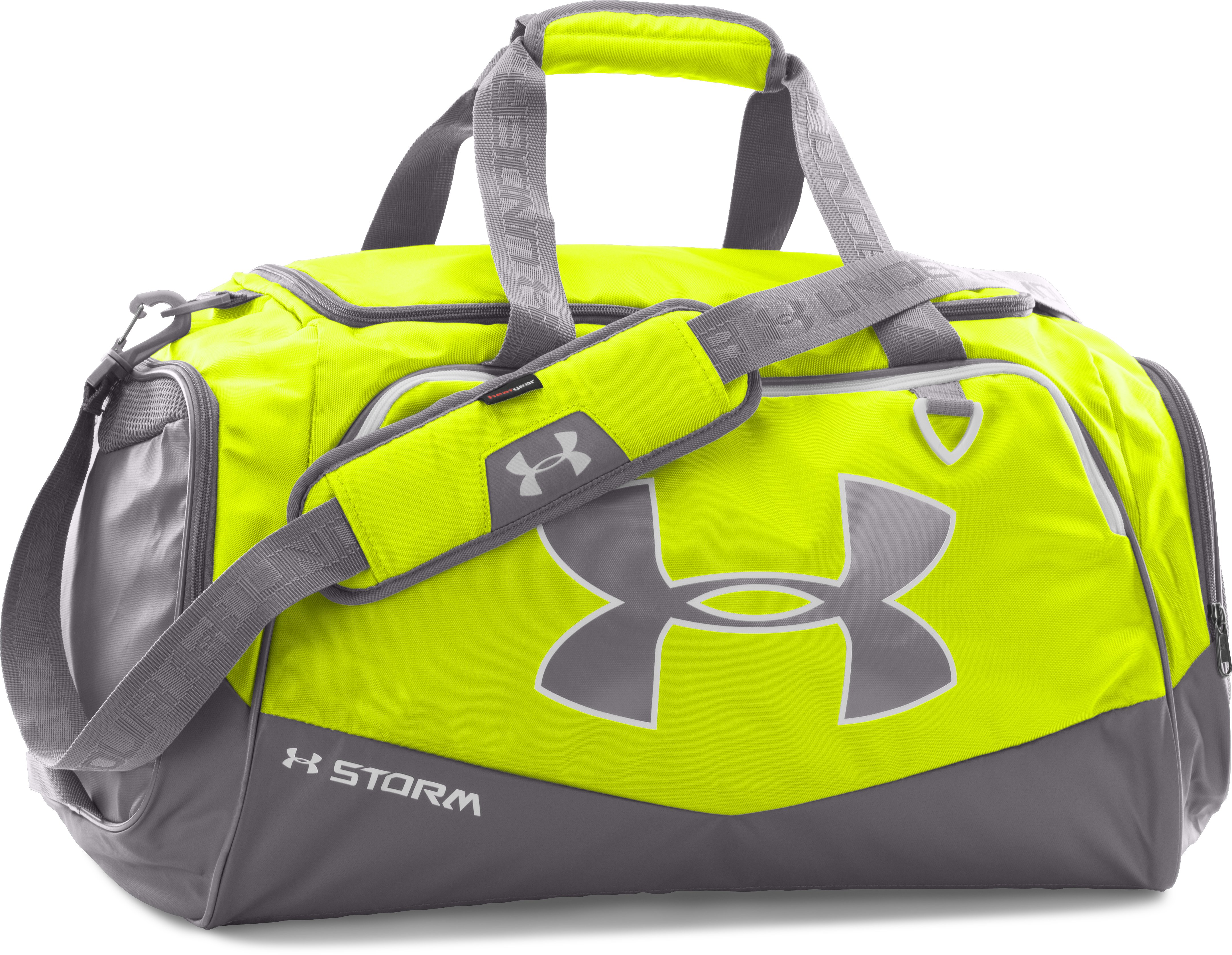 UA Storm Undeniable II MD Duffle, High-Vis Yellow,