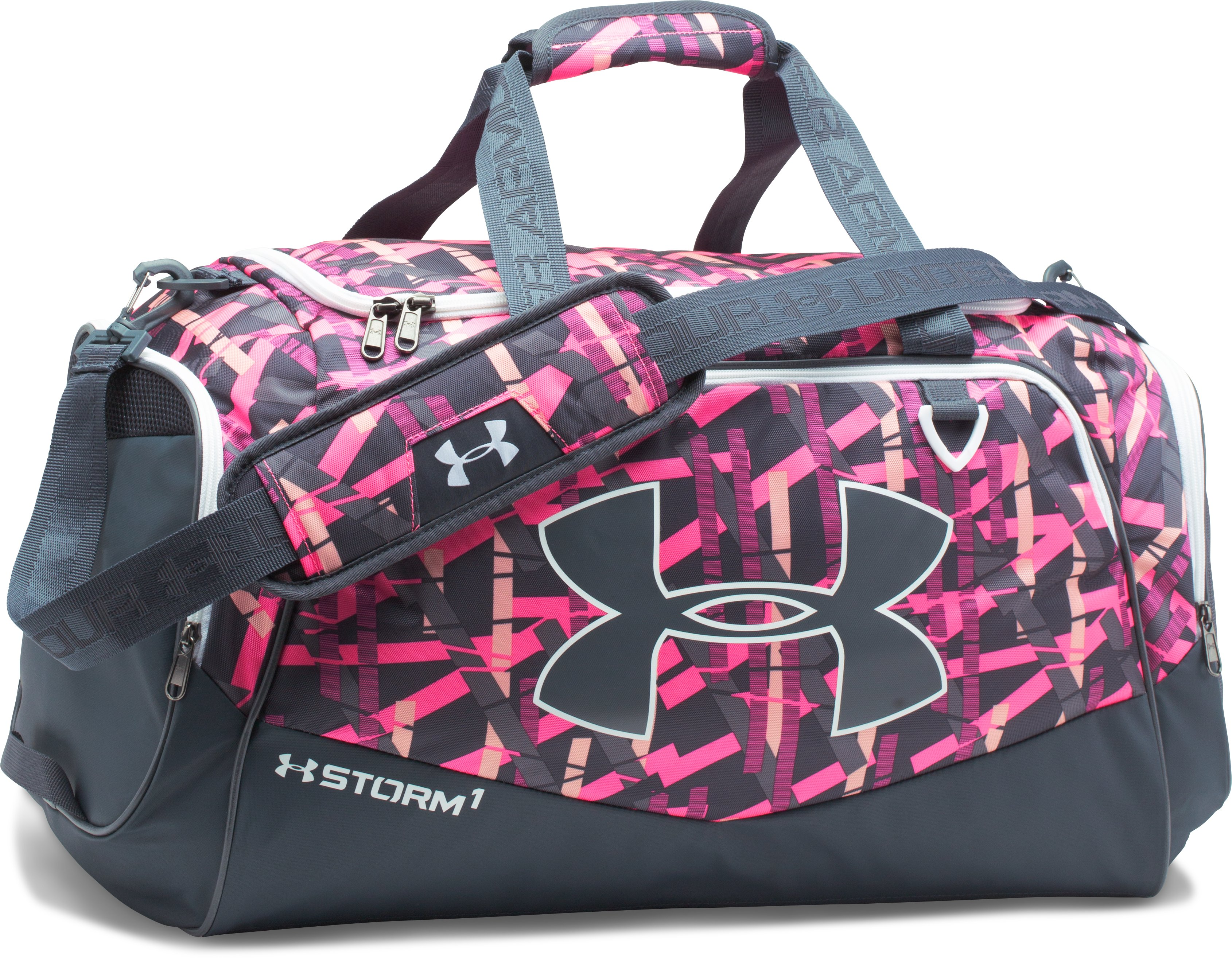 UA Storm Undeniable II MD Duffle, BALLET PINK,