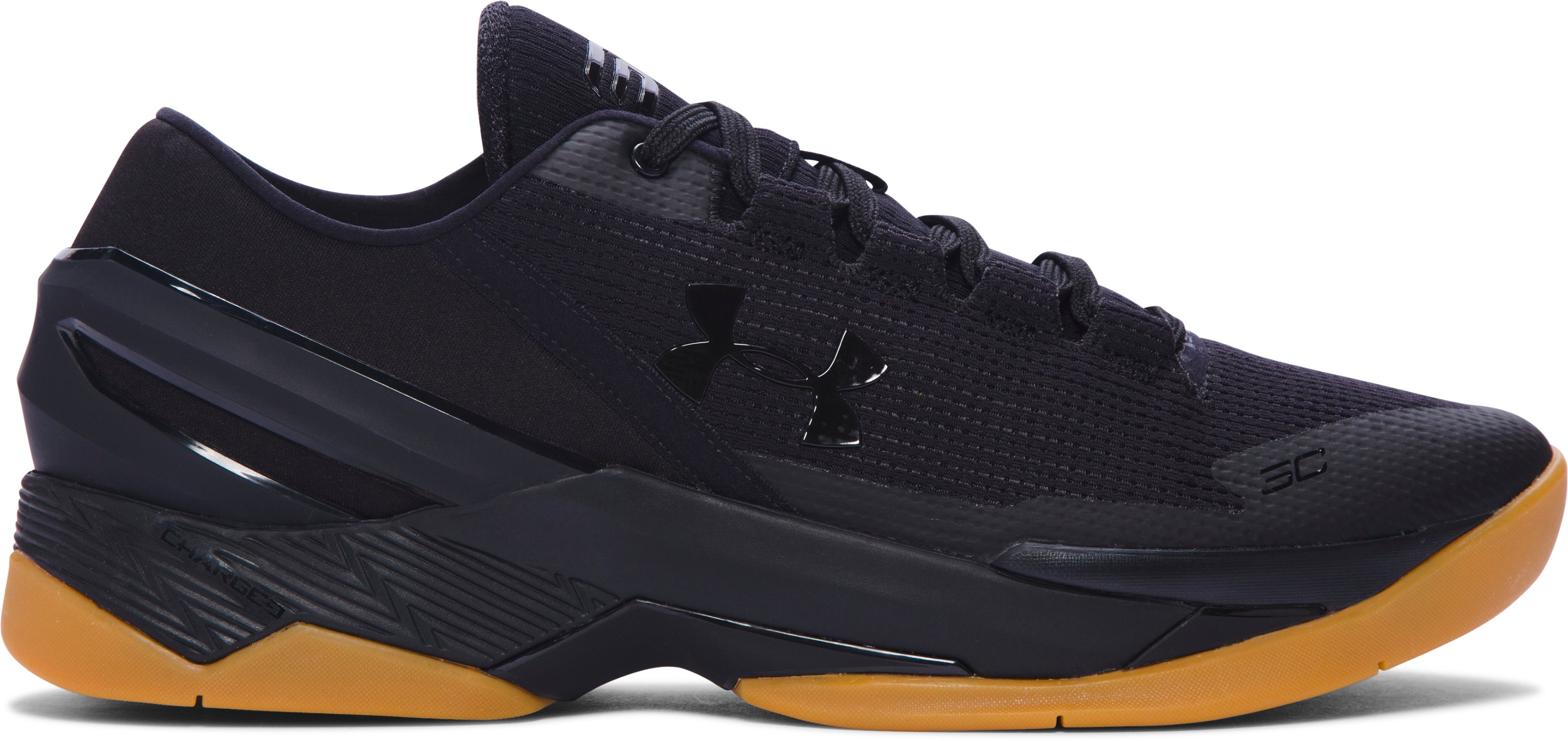 Men's UA Curry Two Low Basketball Shoes, Black