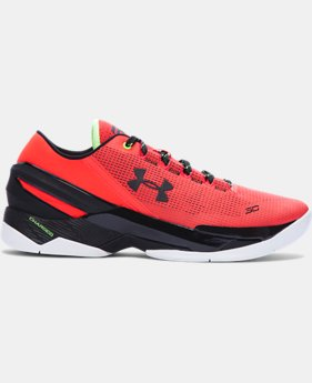 Best Seller Men's UA Curry Two Low Basketball Shoes LIMITED TIME: FREE U.S. SHIPPING 1 Color $119.99
