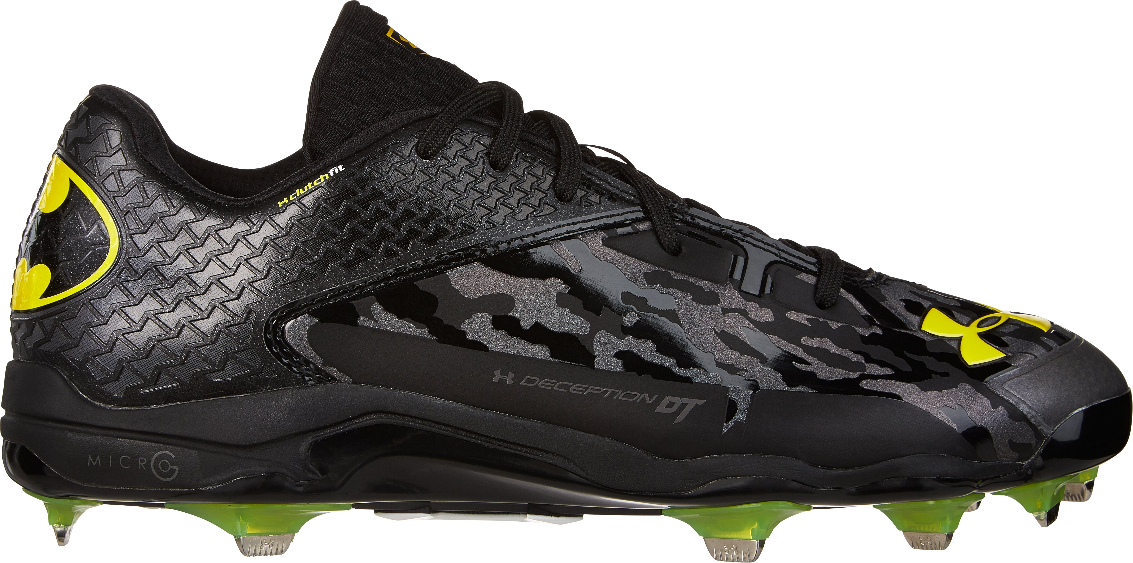 Men's Under Armour® Alter Ego Deception Low DiamondTip Baseball Cleats, Black
