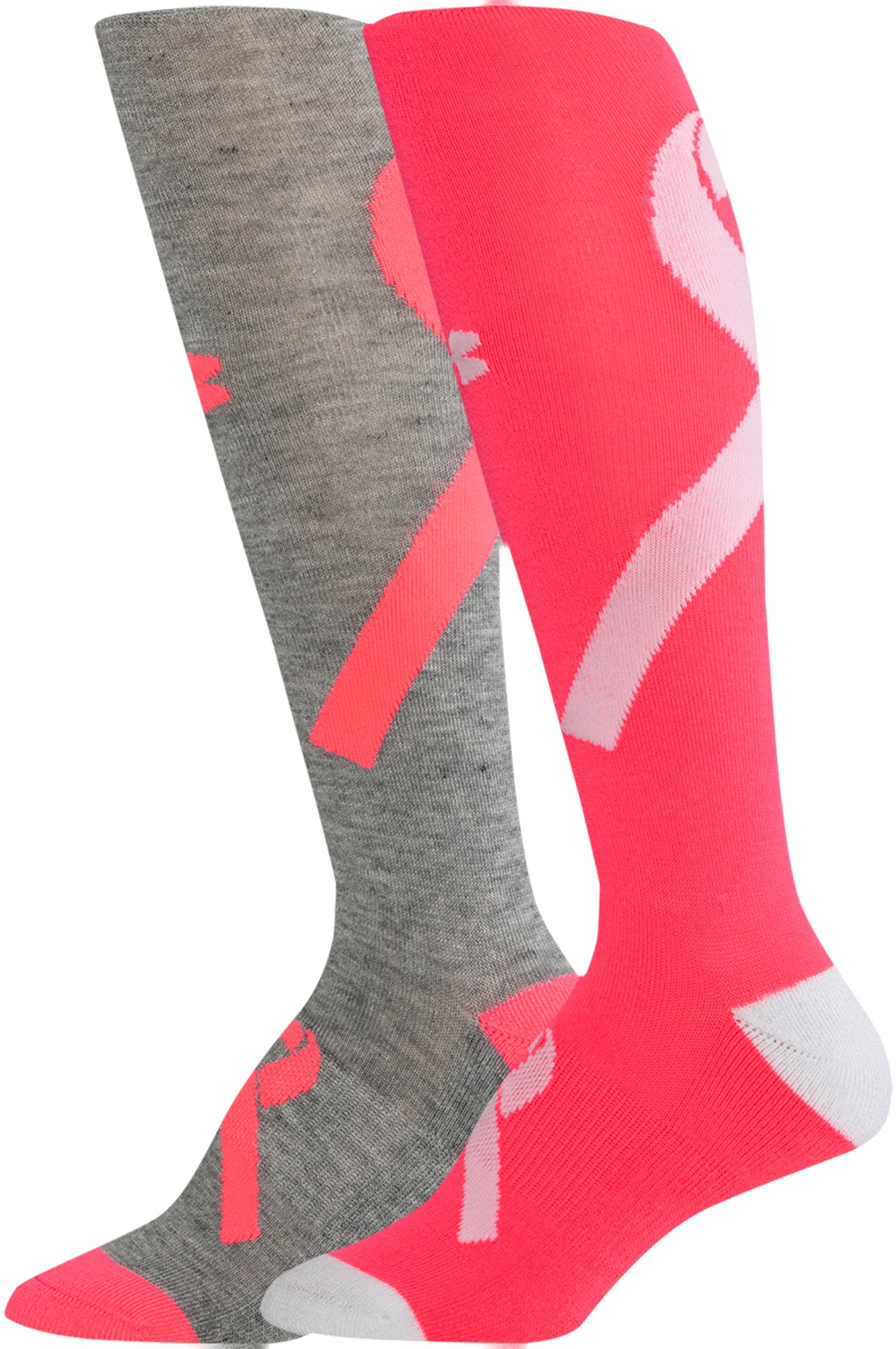 Women's UA Power In Pink® Knee Socks, Assorted, zoomed image