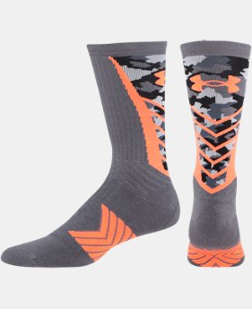 Men's UA Undeniable Camo Crew Socks  1 Color $12.99